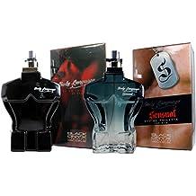 Perfumes Pack Sensual para Hombre. Body Language Sensual 100ml + Body Language Red 100 ml. Dos Regalos al precio de uno.