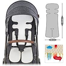 Transpirable Universal de verano para asiento/Asiento para cochecito & Buggy, reduce sudor de tu hijo–Enfría por aire | Premium Calidad | climática de Einlage también para sillitas & Niños asientos.