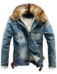 zarupeng Inverno giacca jeans indossati uomini vestiti jean cappotto uomo casual giacca outwear vestiti spessi