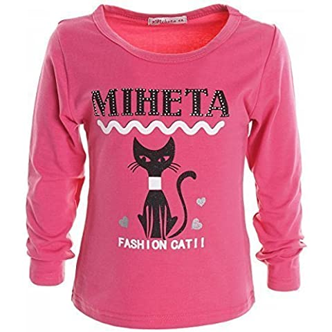 Camisa Larga De Chicas Camiseta Blusa Jersey Camiseta Manga Larga Vestido De Punto Sudadera 20257