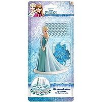 Dekora - Figura Frozen para Tartas con 5 Velas de Cumpleaños