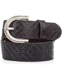 EVA LOPEZ Cinturón Mujer Piel Negro - Casual Mujer
