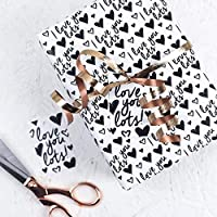Love Gift Wrap - Wrapping Paper - Valentine's Day - Anniversary - Gift Wrap - Anniversary wrapping paper - Birthday wrapping paper - Love - Boyfriend - Girlfriend
