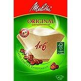 Cofresco iberica M30402 - Papel filtro cafetera melitta 1x6