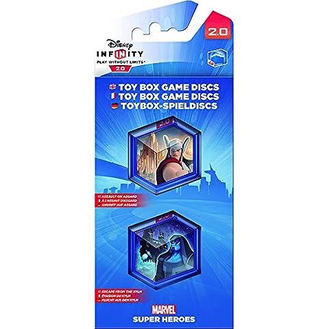 Disney Infinity 2.0 - Toy Box Game Discs: Marvel Pack