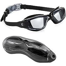 Gafas de Natación, EveShine Gafas para Nadar Antiempañado y Anti Rayos UV Para Hombres Mujeres Adultos Jóvenes Niños Niño - Lo Mejor Para Hombres, Mujeres, Niños - Ideal para Todo Tipo de Agua, Piscina, Deportes Acuáticos
