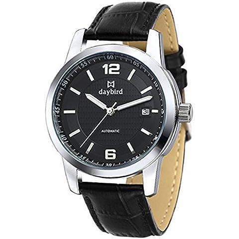 Orologi meccanici automatici/Orologio da uomo in acciaio inox d'affari/ orologio di hollow men impermeabile-D