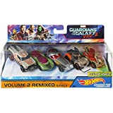 Hot Wheels Marvel Guardians, Multi Color (Pack Of 5)