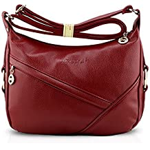 7d7867fe3 es Vino Color Fiesta De Amazon Bolsos gqdwF11