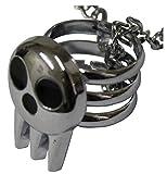 collana con anello regolabile a teschio maestri d'armi - cosplay - pidak shop