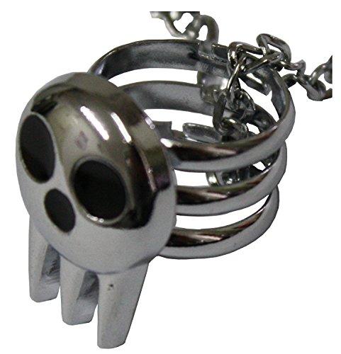 Halskette mit Ring verstellbar Totenkopf Meister von Waffen-Cosplay-pidak Shop
