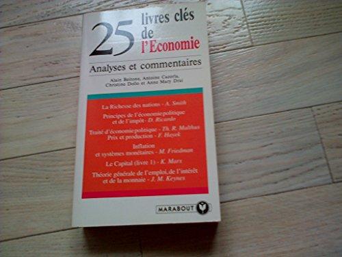 25 livres clés de l'Economie par Alain Beitone