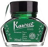 KAWECO Tintenglas 30ml Grün (Schreibtinte für Füllhalter)
