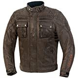 GERMAS 828.94-54-XL Motorrad Wachs/Cotton/Jacke AUSTIN, Braun, Gr. XL