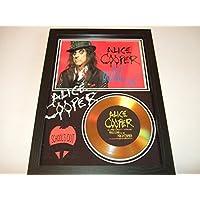 Alice Cooper Signée disque d'or