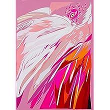 Générique Chloe Croft London Amarante Flamingos Édition limitée Fine Art Print Taille C, Rose/Cerise/Magenta/Blanc