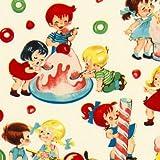 Michael Miller Stoff Candy Shop Kinder Süssigkeiten