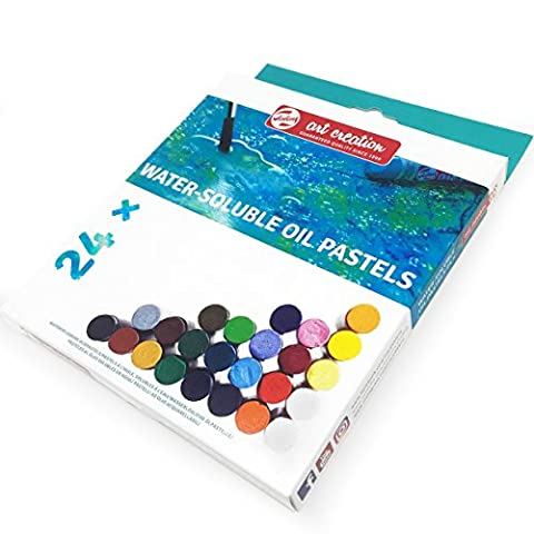 Royal Talens – Art Création de Aquarellable pastels à l'huile – Lot de 24