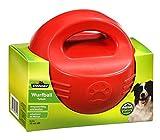 Dehner Hundespielzeug Wurfball Splash, schwimmfähig, Ø 15 cm, Gummi, rot