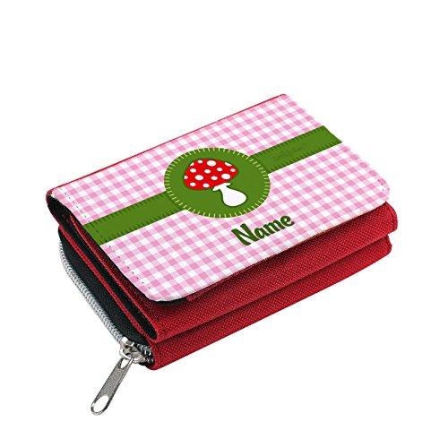Striefchen® Portemonnaie für Kinder - Glückspilz - Wunschnamen