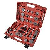vidaXL Kit di strumenti per l'avvolgimento dei pistoni di freno 35 pz