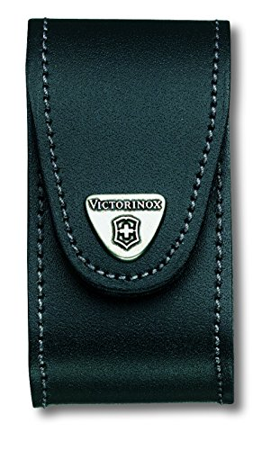 51q 6AFXwuL - Victorinox 1.6795.LB1 Swiss Champ with Leather Pouch Pocket Tool, Red (Blister), Size