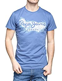 Pepe Jeans - Tee Shirt Darren Pm503989 551 Blue
