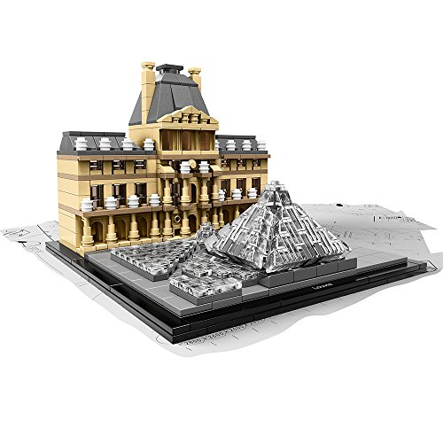 LEGO Architecture 21024 Louvre Building Kit by LEGO