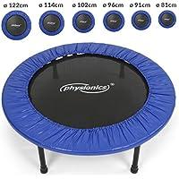Physionics - Trampoline fitness - utilisable à l'intérieur comme à l'extérieur – Taille 3 (Ø: 96 cm) – TAILLE AU CHOIX