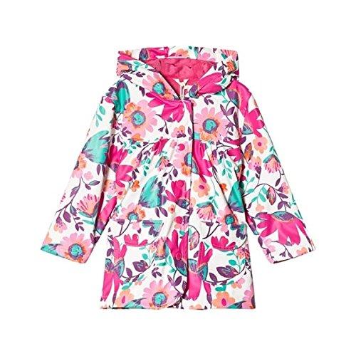 Hatley Tortuga Bay Floral Classic Girls Raincoat Hatley