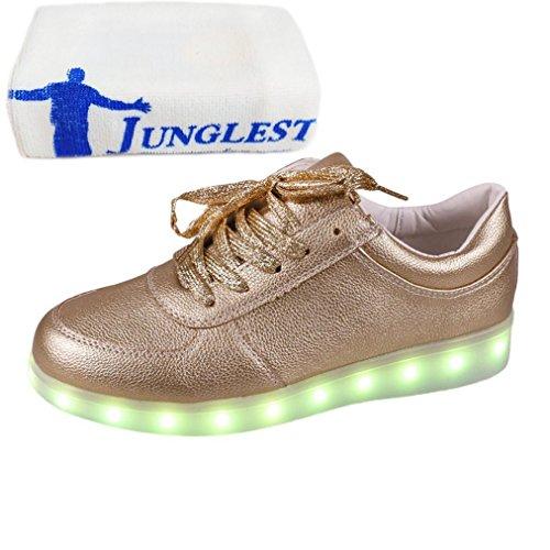(Présents:petite serviette)JUNGLEST - Baskets Lumin Doré