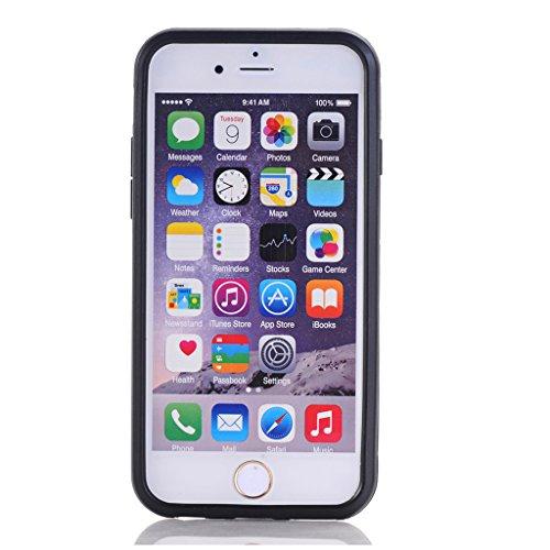 Cuitan 2 in 1 Dual Layer Hybrid Schutzhülle für iPhone 5S / 5 / 5G, TPU Weich Bumper und PC Harte Rückseitige Abdeckung Built-in Ständer Design Rüstung Hülle Handytasche Tasche Case Cover mit Toch Pen Blau
