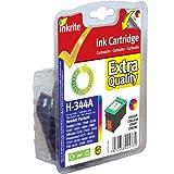 Inkrite Cartridge (HP 344) for HP PSC 1610 2350 Deskjet 5740 6520 6620 6980 - C9363E Clr