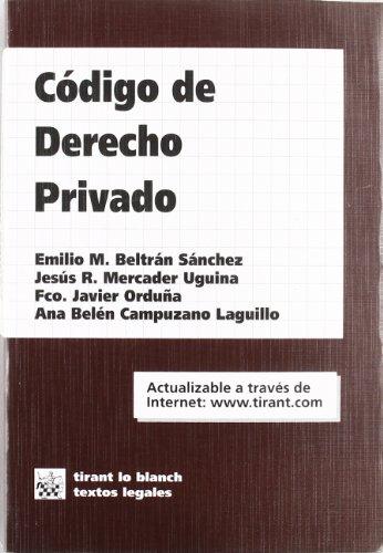 Código de Derecho Privado (Ed., 2001)