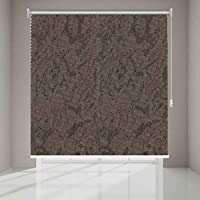Polyester Solid Pattern, Brown - Roller Curtains  - RL563865