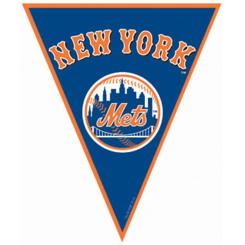 New York Mets Baseball - Pennant Banner Party Accessory New York Mets Baseball