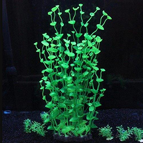 LDFN Simulation Wasserpflanzen Aquarium-Sets Kunststoff-Pflanzen Aquariendekoration Künstliche Aquariendekorationen,H