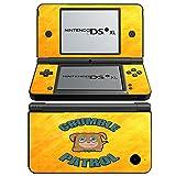Lustig 038, Crumb Patrol, Design folie Sticker Skin Aufkleber Schutzfolie mit Farbenfrohe Design für Nintendo DSi XL Designfolie