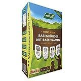 Westland Smart & Safe Rasendünger mit Rasensamen, Gesundes Grün in 7 Tagen, Granulat, Dunkelbraun, 5,25 kg, 150 m²