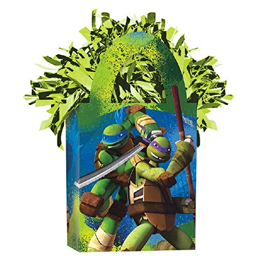 (Amscan 110099156g Teenage Mutant Ninja Turtle Tote Ballon Gewicht)