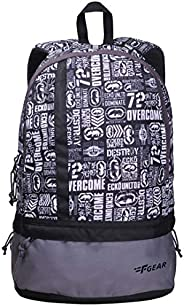 F Gear Burner 20 Liters P8 White Casual Backpack