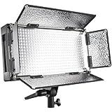 Walimex Pro LED 500 Flächenleuchte (inkl. 4 m Netzkabel, Diffusorplatte und Warmtonfilter)