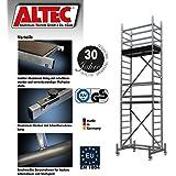 ALTEC Rollfix 600, Arbeitshöhe 6 m neu, inkl. Rollen, Fahrtraverse und Wandanker, TÜV-geprüft