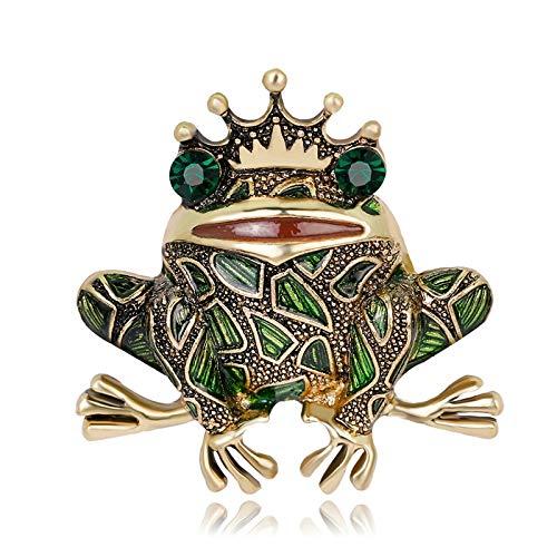 Froschkönig Kostüm Nähen - FGTYJ Tierbroschen Froschkönig Corsage Kostüm Schmuck