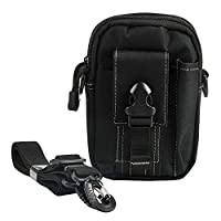 Faleto Tactical Molle Pouches EDC Pouch Utility Gadget Belt Waist Bag Crossbody Purse Carry Accessory Kit Money Pocket Bag For Men Black
