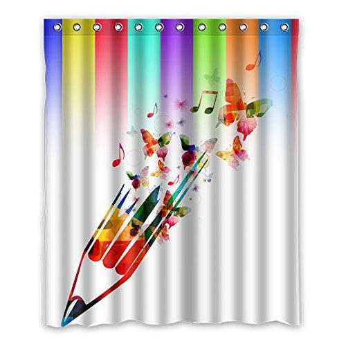 60-x-18288-cm-150-cm-x-183-cm-diseno-de-mariposa-musica-de-fondo-patron-de-simbolo-de-colores-100-te