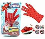 #10: Zest 4 Toyz Spiderman Gloves With Disc Launcher For Real Action - Red