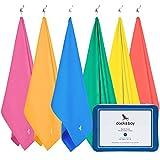 Microfibra Grande Telo - Viaggi asciugamani - Asciutta Rapida, Leggero, Assorbente - (200cm, 160cm) Per spiaggia, piscina, nuoto, palestra, campeggio, sport, calcio - #1 rated towel