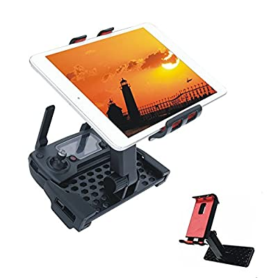 Crazepony-UK 4-12 Inch Monitor Holder Extension Adjustable Tablet Bracket Phone Mount for DJI Mavic Pro Remote