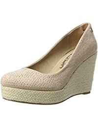 Xti Nude Microfiber Ladies Shoes ., Espadrilles compensées  femme